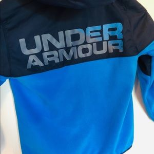 Boys Under Armour Cold Gear Full Zip Jacket